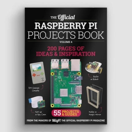 raspberry pi projects book